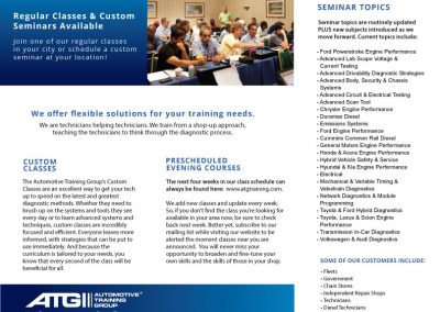 ATG Training Tri-Fold Design