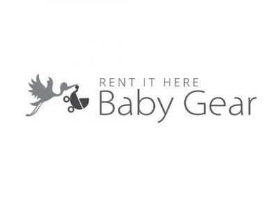 Rent it Here Baby Gear Logo Design