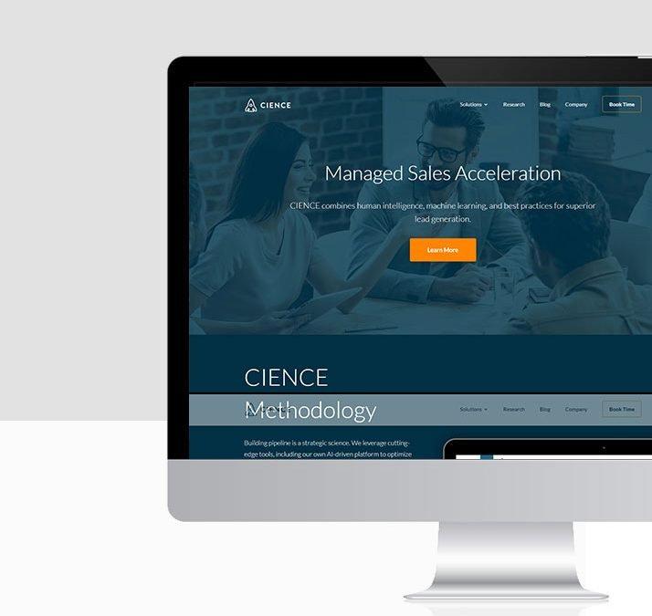B2B Website Development – Technology Company