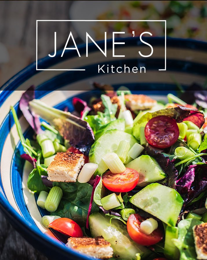 Jane's Kitchen Website Development