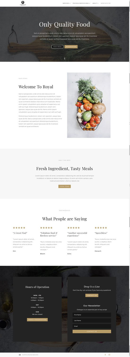 Fill in the blank website development templates, Modern Design Media