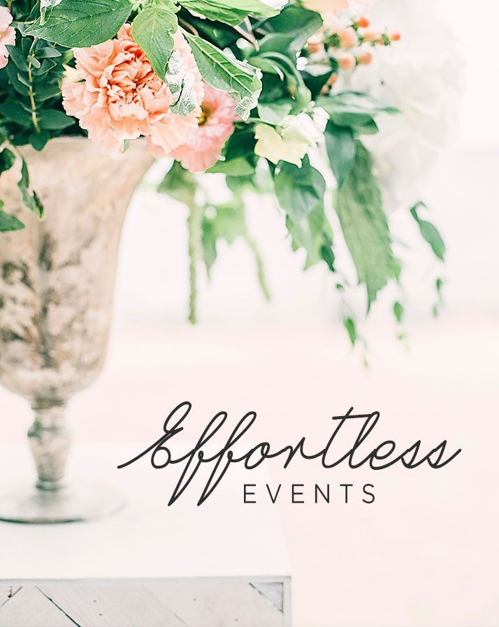 Effortless Events San Diego Event Coordination Company Website Development