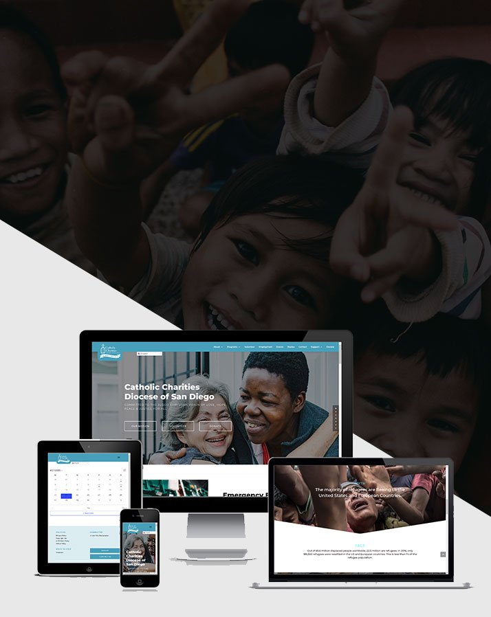 Catholic Charities Diocese of San Diego (CCDSD) Website Development