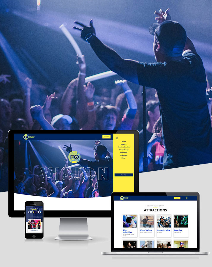 Future Quest 2021 Website Development